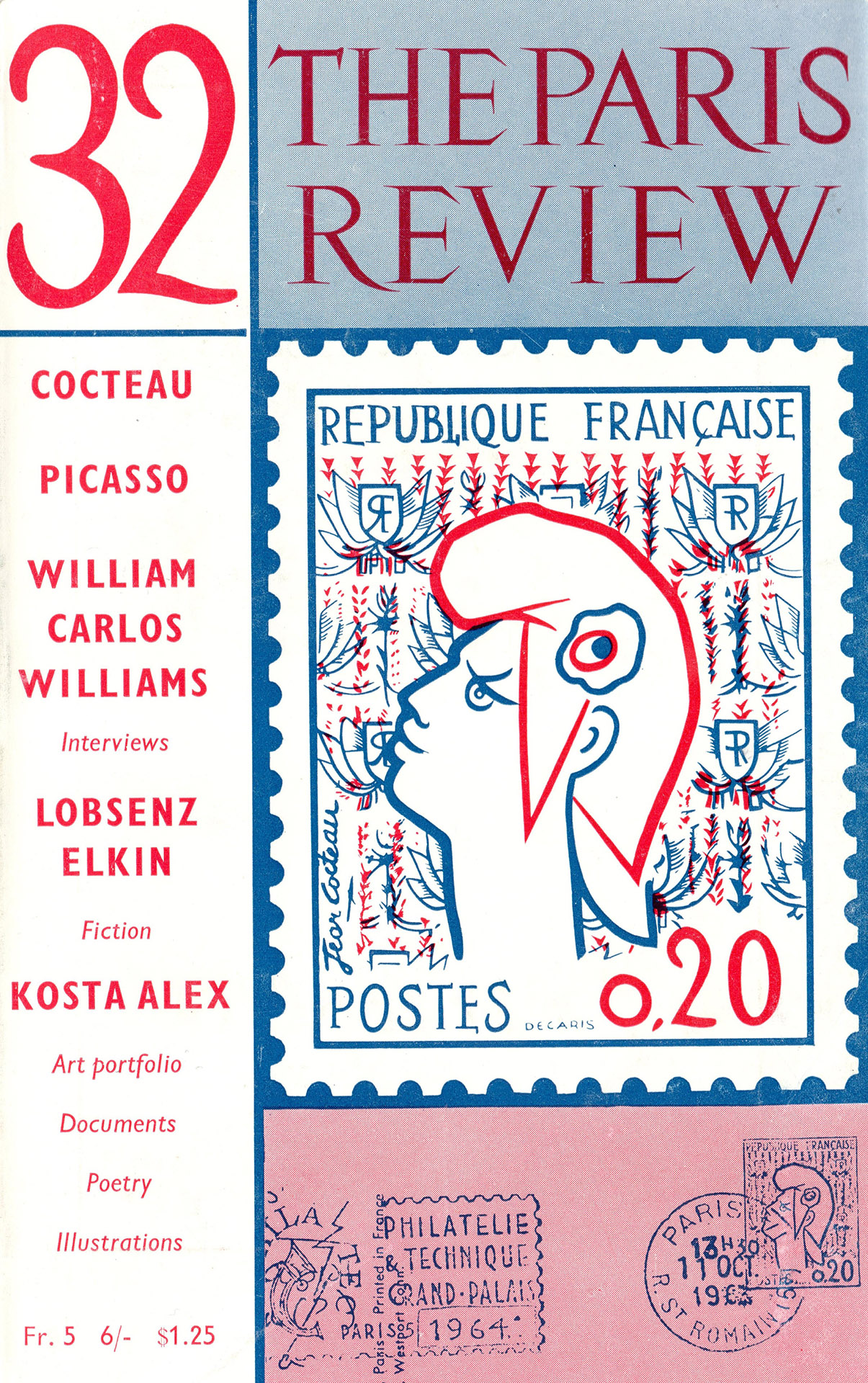 3. THE PARIS REVIEW - 32 - KOSTA ALEX[1964]